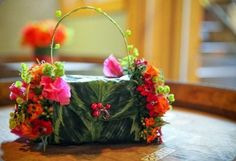 fran flower-purse-with-fushia-orange-and-chartreuse-flowers-Vista-Hills-Françoise-Weeks2