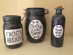 HAPPY HALLOWEEN SPECIAL 10 dollars off! Sally's Jars from The Nightmare before Christmas