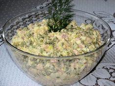 Sałatka z wędzonym kurczakiem i porem - zdjęcie 3 Guacamole, Potato Salad, Potatoes, Ethnic Recipes, Food, Hair, Beauty, Diet, Salads