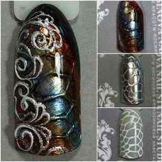 Маникюр пошагово Creative Nails, Art Lessons, Simple Designs, My Nails, Nail Designs, Nail Art, Art Tutorials, Nail Decorations, Decorations
