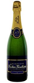 SPARKLING | Nicolas Feuillatte Brut Reserve Champagne $24.99  SKU #995480  90 points Wine Spectator   Flavors of poached pear, kumquat, white raspberry, biscuit, ginger and licorice mix in this lively, open-knit version. Features a modest, lightly smoky finish. Drink now through 2014.   (12/ 2012) K