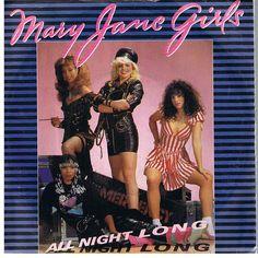 Mary Jane Girls - All Night Long (UK 7'') - 1983