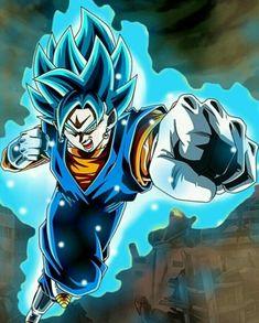 How Vegeta become a Super Saiyan God - A lot of Dragon Ball fans have been wondering how Vegeta achieved Super Saiyan God From. Vegito Ssj Blue, Gogeta And Vegito, Dragon Ball Z, Super Hero Games, Anime Warrior, Anime Merchandise, I Love Anime, Dbz, Heroines