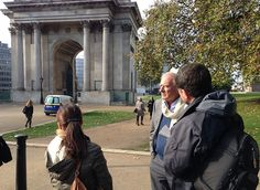 Jean Van Hamme / Wellington Arch - See more at: http://blog.dupuis.com/exclu/largo-winch-voyage-de-presse-londres-6-nov-2014