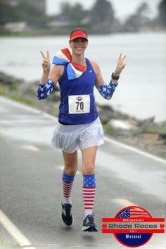 4th of July Running Costume via Run Karla Run