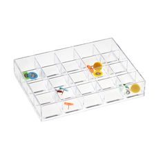 Like-it® Sectioned Drawer Dividers. Would be great for my Ikea Alex Unit to hold earrings!