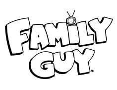Family Guy coloring pages  my board  Pinterest  Family guy
