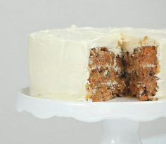 Nutty? Spicy? That's the stuff. Check out this amazing carrot cake from SouthernLiving.com.