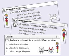 Exercices quotidiens en grammaire et conjugaison Learning French For Kids, Ways Of Learning, Learning Quotes, Education Quotes, Kids Learning, French Flashcards, School Organisation, Grammar Games, Online Games For Kids