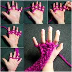 Did you know that you don't have to use knitting needles to knit? Yes, you can do finger knitting! I came across this creative idea on the Dharmaflyer Blog and was really impressed. Finger knitting is fun and easy to learn. You can work with your kids on it. It …
