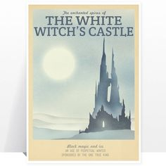 http://www.notonthehighstreet.com/teacuppiranha/product/narnia-white-witch-castle-travel-print