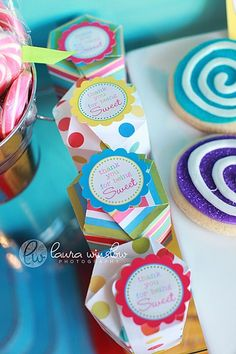 printables from the TomKat Studion on etsy.  great birthday party ideas on her blog too.