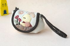 Patchwork Quilted Coin  Purse. Step by step Sewing Tutorial.