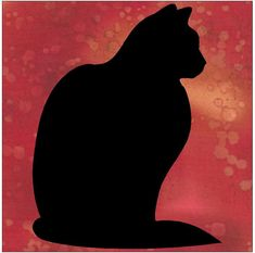 This easy sitting black cat silhouette applique pattern is the perfect touch for any quilting project . Once received, using this design is quick and easy. Start to finish, it can be done in under an hour. Our directions will walk you through ...