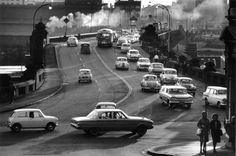 Pyrmont Bridge in Sydney in 🌹 Penal Colony, Australian People, Sydney City, History Photos, Sydney Australia, Faded Glory, Back In The Day, Historical Photos, East Coast