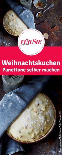 Weihnachtskuchen Panettone selber machen. Rezepte für Weihnachten
