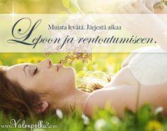 Muista rentoutua