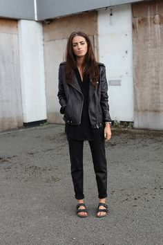 I'll stop wearing black when they invent a darker colour. London. #IndiaRose Street Style