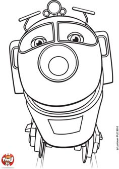 Chuggington Birthday Kid Crafts Coloring Pages