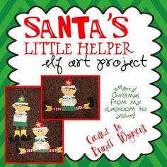 Santa's Little Helper--Free Elf craft project
