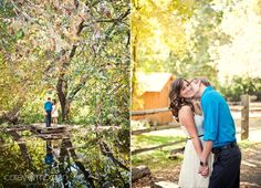(love the left- overlooking the small pond!) Lynnae + Chas: Riley's Farm Engagement Pictures – Oak Glen Photographers » Corey Morgan Photography – southern california wedding and lifest...