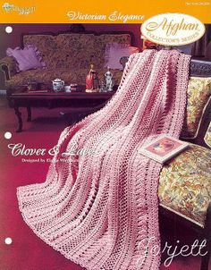Victorian Crochet Afghan Patterns | this item is craft pattern s written instructions to make