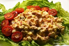 Domáci vlašský šalát – Stano Šimo Pasta Salad, Ethnic Recipes, Food, Red Peppers, Crab Pasta Salad, Essen, Meals, Yemek, Eten