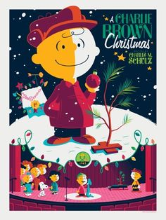 A Charlie Brown Christmas. Love that Linus quotes the 'Christmas Story' from the Bible.
