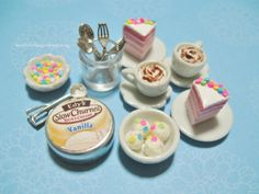 Hey, I found this really awesome Etsy listing at https://www.etsy.com/jp/listing/195806088/dollhouse-miniature-pink-ombre-cake-and