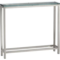 Era Console Table in Side, Coffee Tables | Crate and Barrel