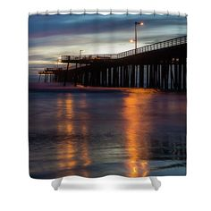 Pismo Beach Shower Curtain featuring the photograph Goodnight by Marnie Patchett