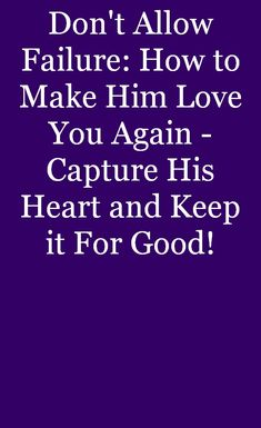 You'll be deeply attractive to him. #relationship Healthy Relationships, Love You, Feelings, How To Make, Men, Te Amo, Je T'aime, Guys, I Love You