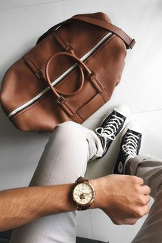 We can't get enough of @themetroman's travel #FossilStyle. Enter your Fossil Style on Instagram for a chance to be featured.