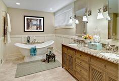 Master Bathroom-Home and Garden Design Ideas!
