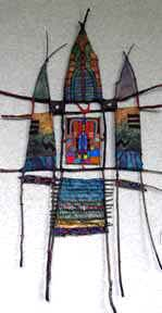 Sculptural Weaving - South Western and Adirondack Weaving and Sculpture Gallery :: Adirondack Weaver