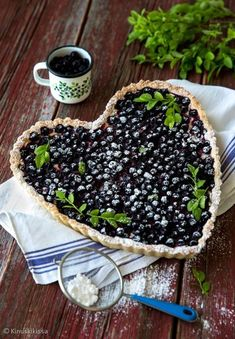 Blueberry Farm, Sweet Pastries, Sweet Pie, Great Desserts, Learn To Cook, Desert Recipes, Food Photo, Baking Recipes, Sweet Recipes