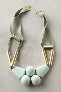 collier pistache necklace