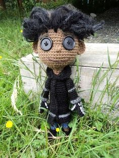 Amigurumi To Go!: Crochet Wybie Doll Pattern Inspired by Coraline Plus Video Tutorial