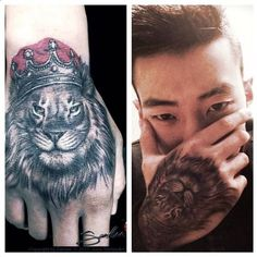 #JayPark Shows Off His Latest Tattoo - What's the Meaning Behind the New Ink? More: http://www.kpopstarz.com/articles/49267/20131115/jay-park-tattoos-king-of-the-jungle.htm