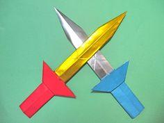 折り紙 伝説の剣 折り方動画 - 創作折り紙の折り方・・・動画