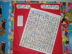 Seasonal Bulletin Boards, Words, Horse