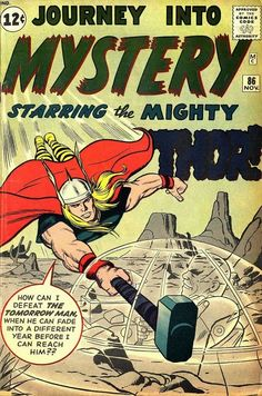 Journey Into Mystery #86 (Nov '62) cover by Jack Kirby & Dick Ayers.