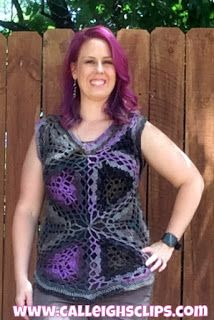 Calleigh's Clips & Crochet Creations: Priscilla Crochet Top: Review