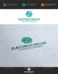 Electrobiz Tech Logo - Electro Circuit Logo for electric industry. Logo that will good for any software, Tech and IT related company. Logo that can be used in media companies technology developers, software and multimedia applications, multimedia web sites, among other uses. Its design is very simple and very easy to configure. Ready to print.