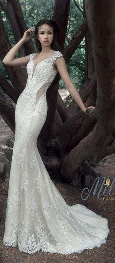 Milva Bridal Wedding Dresses 2017 Albena4 / http://www.deerpearlflowers.com/milva-wedding-dresses/8/