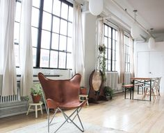 Rent meeting space at 976 rue Lacasse, Floor, Suite Room B daily or hourly with Breather. Book office space in Saint-Henri. Butterfly Chair, Montreal, Flooring, Interior Design, Room, Inspiration, Furniture, Home Decor, Spaces