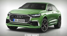 2018 Audi Q8 Drops Flashy Concept Parts And Poses As A Production Model