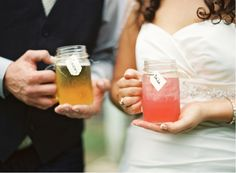 {southern comfort (real wedding)} filled with mason jars and DIY rustic wedding details!