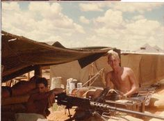 Manning the 50 cal Army Day, Military Art, Cold War, South Africa, African, Painting, Soldiers, Shelter, Times