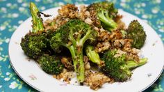 This seasoned broccoli is roasted to ridiculous, crisp-tender, cheesy-crunch perfection. You'll find yourself making this recipe every chance you get.